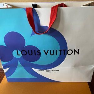 ♦️♣️Louis Vuitton Game on paper bag♠️♥️